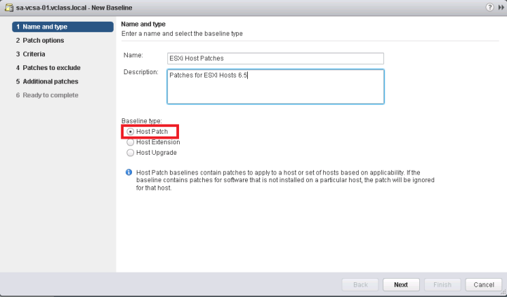 how to patch esxi server using update manager